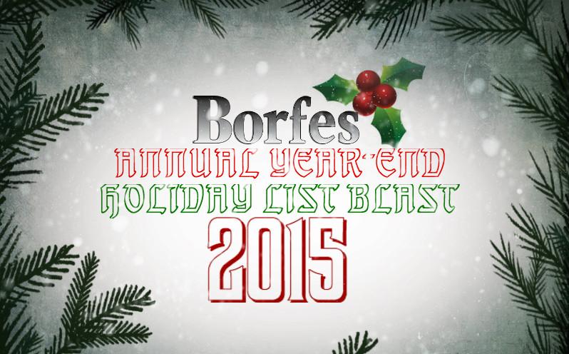 Borfes Lists 2015
