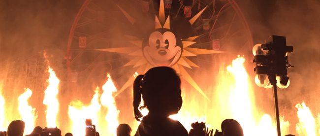 Disney Burns